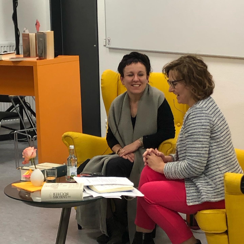 Literaturnobelpreisträgerin Olga Tokarczuk in Siegen